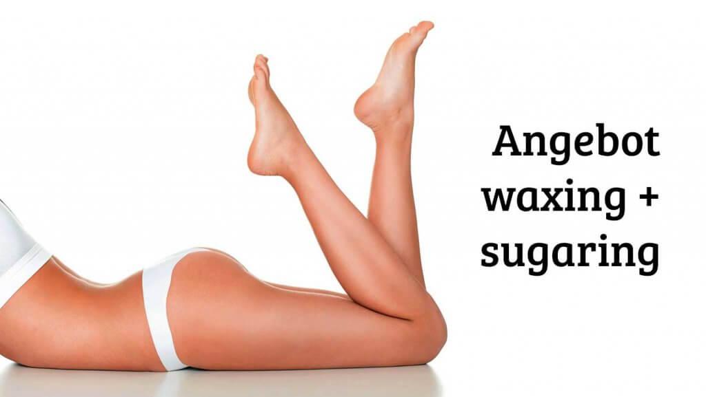 Angebot Waxing Sugaring